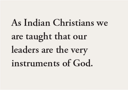 As Indian Christians