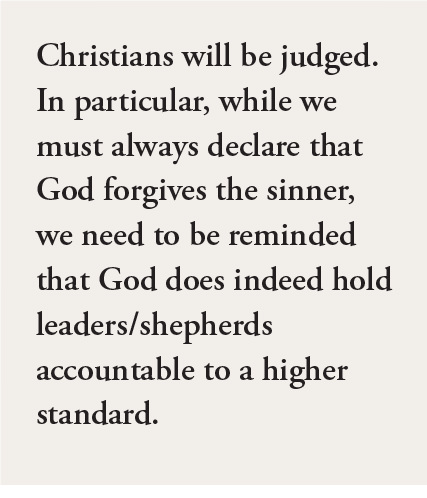 Christians will be judged